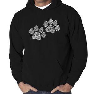 NWT Dog Paw print Sweatshirt